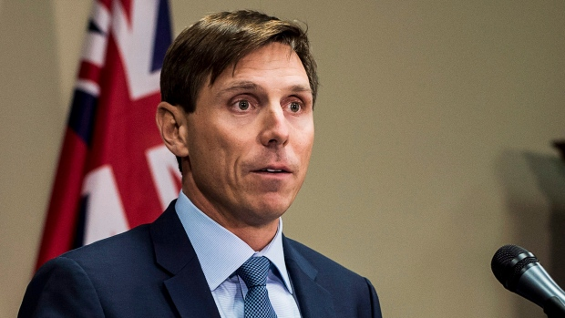 Ontario Progressive Conservative Leader Patrick Brown