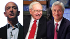CEOs of JPMorgan Chase & Co., Berkshire Hathaway and Amazon.com Inc.
