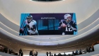Super Bowl promotions at the Mall of America in Minneapolis, Minnesota