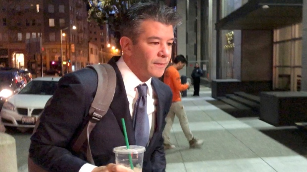 Former Uber Chief Executive Officer Travis Kalanick