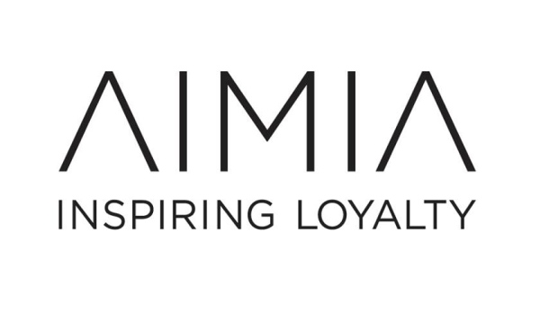 Aimia's logo and corporate slogan